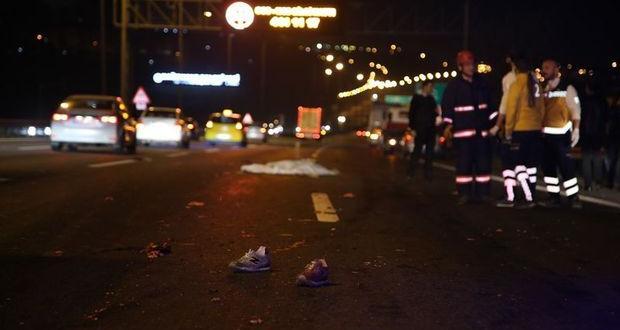 TEM'de korkunç kaza : 1 ölü