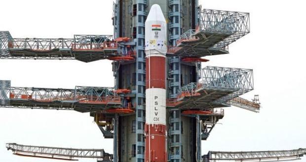 Hindistan'dan 20 Tane Uydu Taşıyan Roket